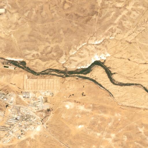 satellite view of the region around Bir el Esani