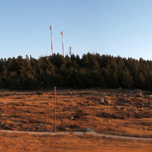 panorama of Tell Tuwani