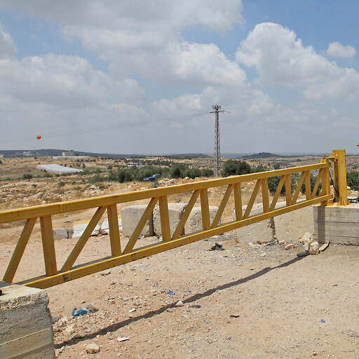 roadblock at Jab'a