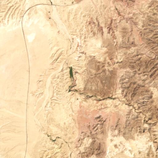 satellite view of the region around Khanazir