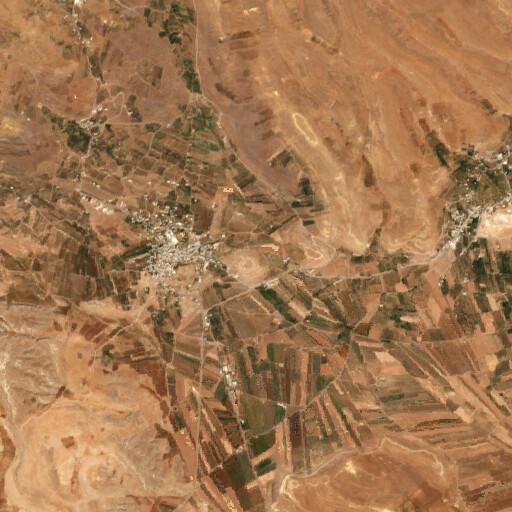 satellite view of the region around Hinah