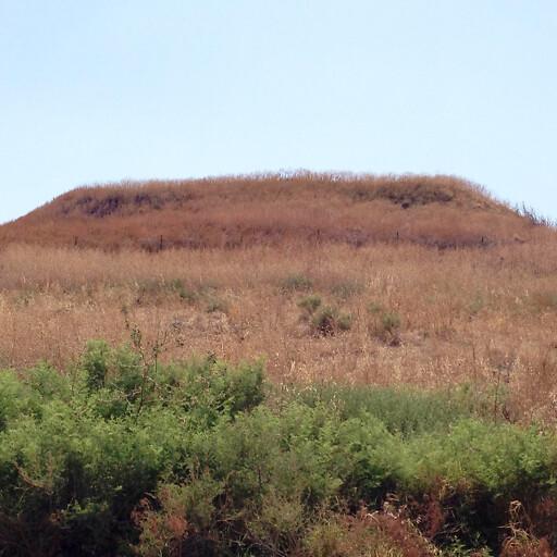panorama of Tel Shalem
