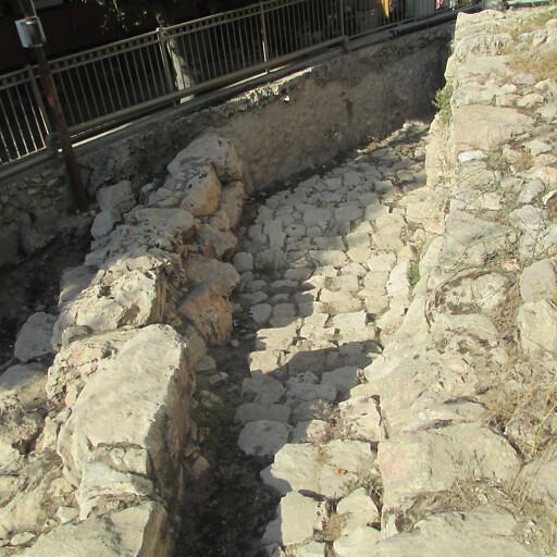 ruins at Tel Rumeida