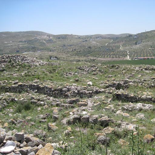 ruins at Tel Dotan