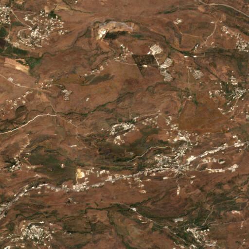 satellite view of the region around Haitla