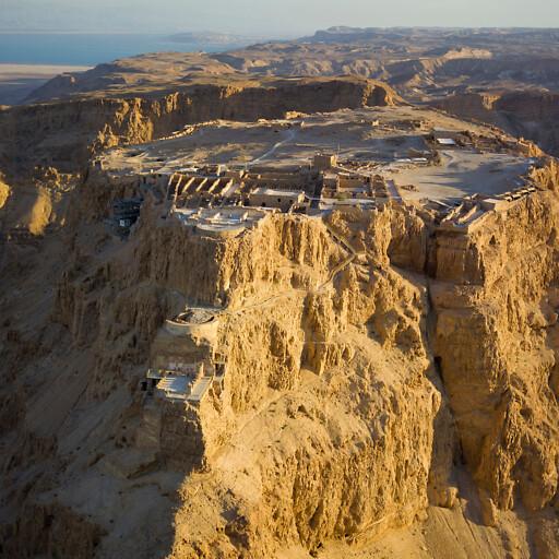 panorama of Masada