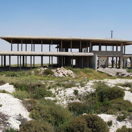 building at Tel el Ful