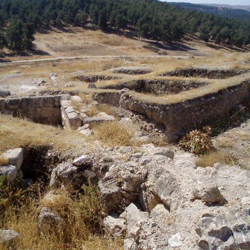 ruins at Khirbet Attir
