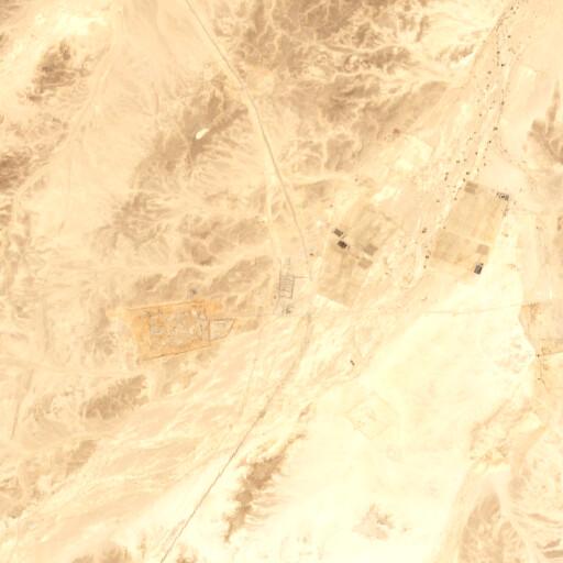 satellite view of the region around Kuntilet el Jerafi