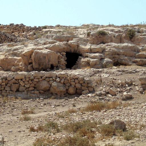 ruins at Tel Main