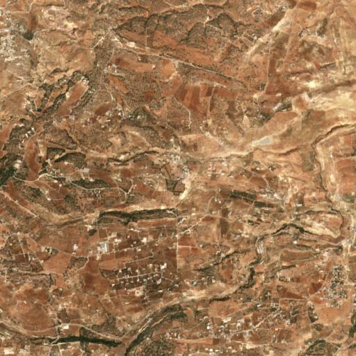 satellite view of the region around Jel'ad
