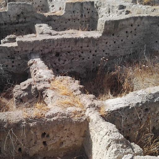 ruins at Tel Rehov