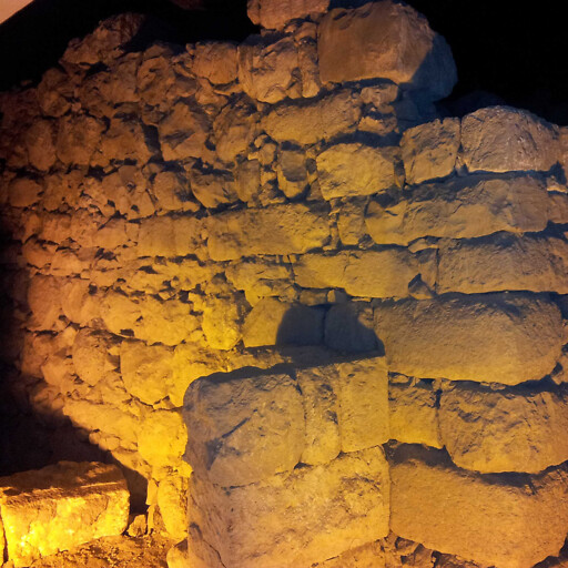 ruins at the Israelite Tower