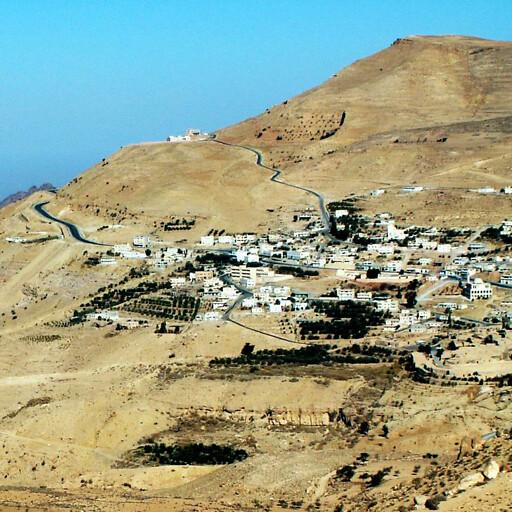 panorama of Jebel Nebi Harun