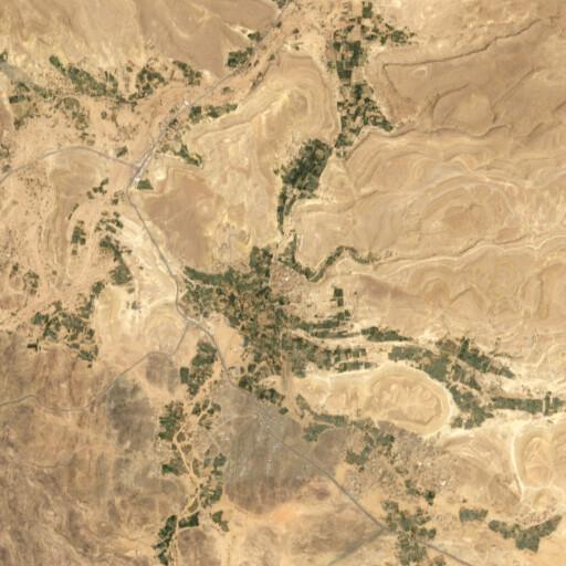 satellite view of the region around Farwah