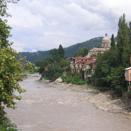 panorama of the Rioni River