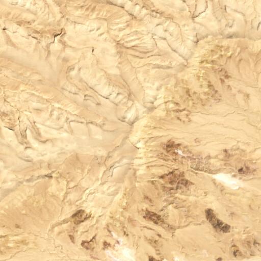 satellite view of the region around Jebel Halal