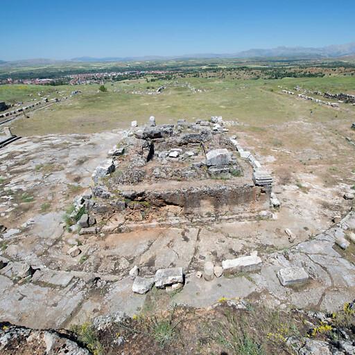 ruins at Antioch in Pisidia