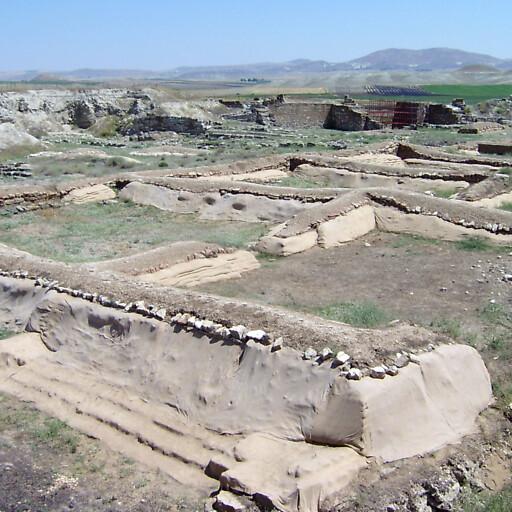 ruins at Gordion