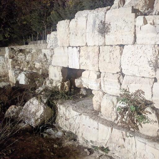 ruins at Ramat el Khalil