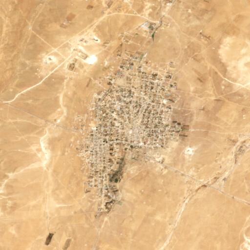 satellite view of the region around Sadad