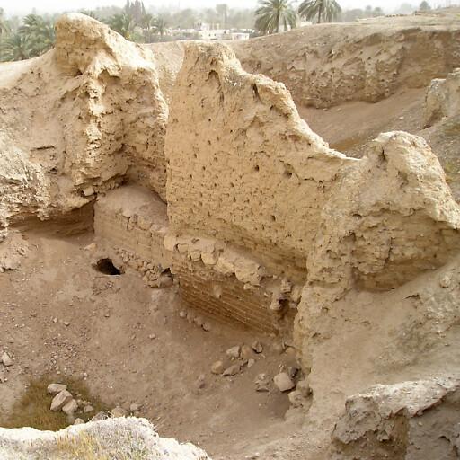 ruins at Tell es Sultan