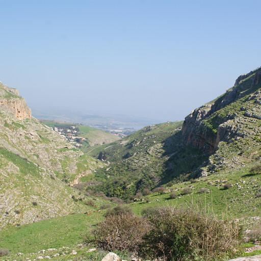 panorama of Nahal Arbel
