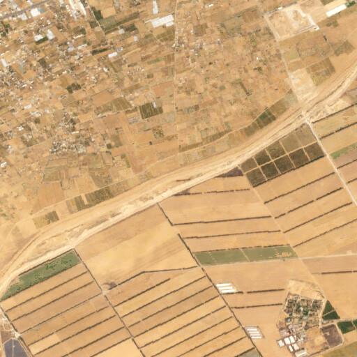 satellite view of the region around Minieh