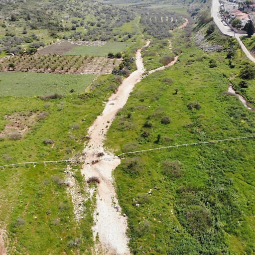 aerial panorama of Wadi Qana