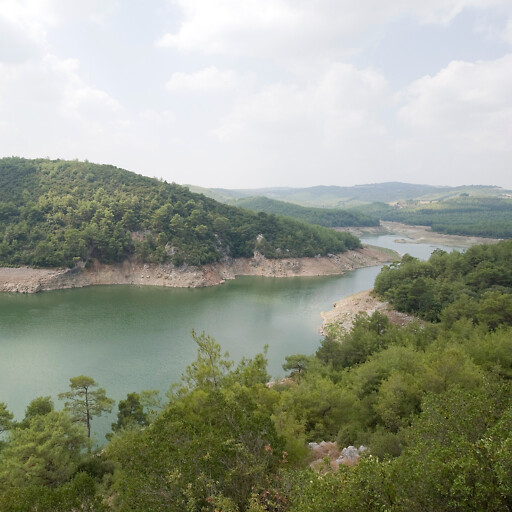 panorama of natural area in Tabal