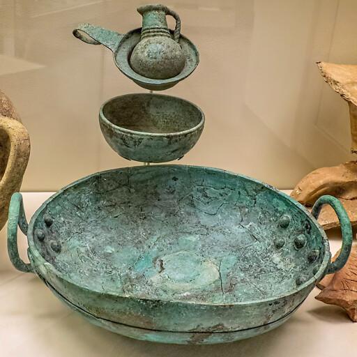 artifact from Tell es Sa'idiyeh