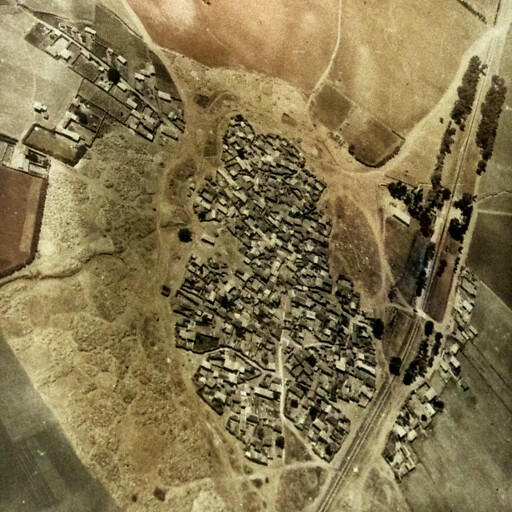 historical aerial panorama of Al Na'ani