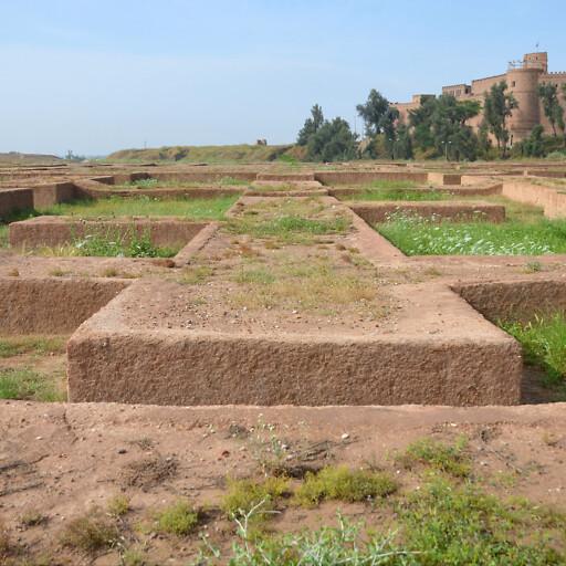 ruins at Shush