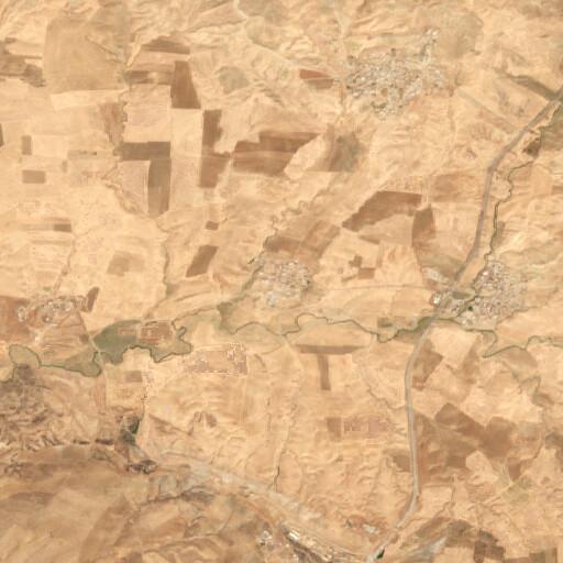 satellite view of the region around Resh Eni