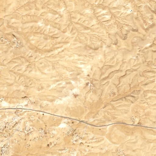 satellite view of the region around Tel Yeshua