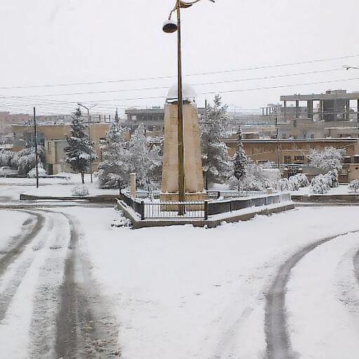 streetscape of Al Qaryatayn