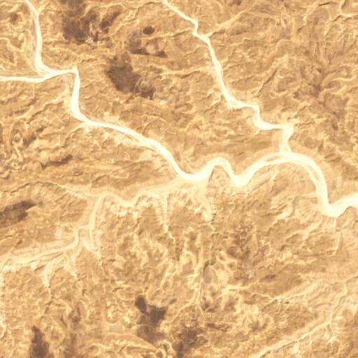 satellite view of the region around Wadi Ratamah