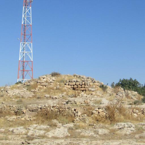 recent ruins at Khirbet Rabud