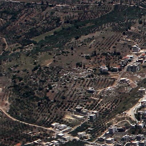 aerial panorama of Horvat Devora