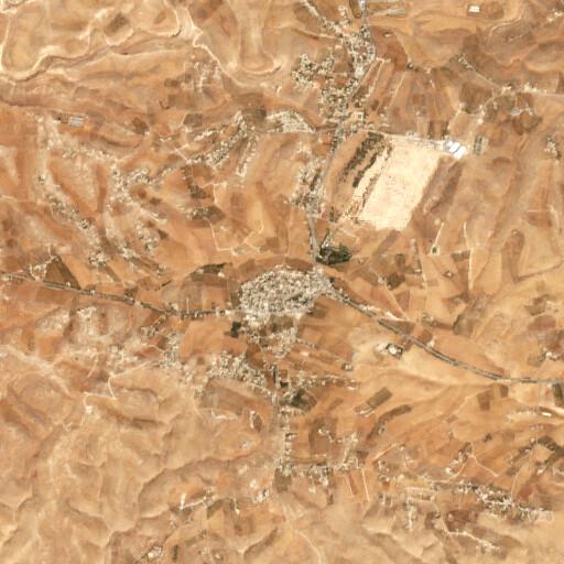 satellite view of the region around Khirbet Libb