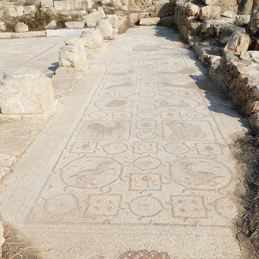 mosaic at Khirbet Beit Lei