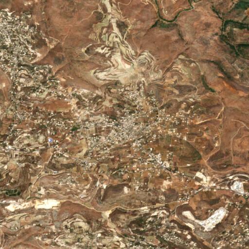 satellite view of the region around Srifa
