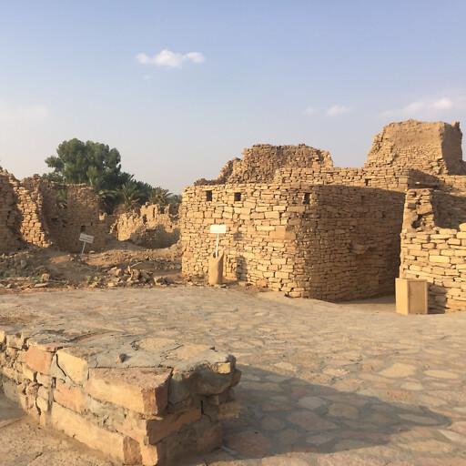 ruins in Dumat al Jandal