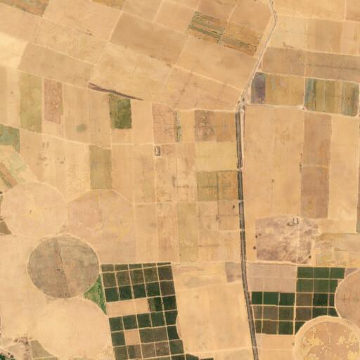 satellite view of the region around Sbalat Abu Susein