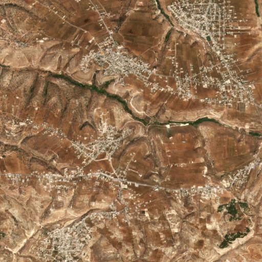 satellite view of the region around Ibdar