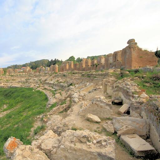 ruins at Nicopolis