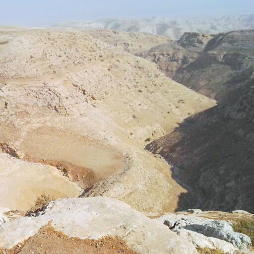 panorama of Wadi Rummananeh
