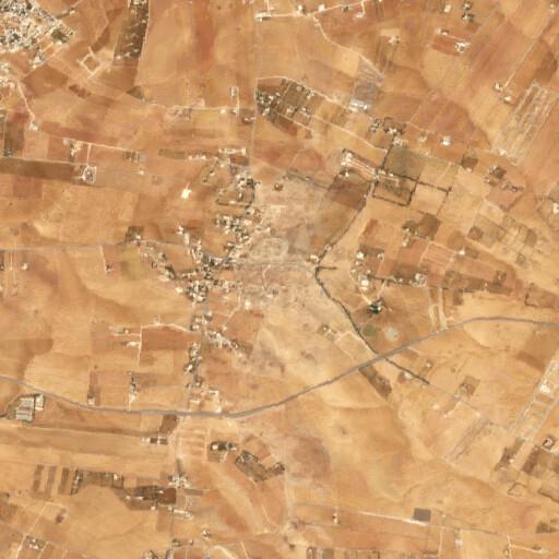 satellite view of the region around Tall Jalul