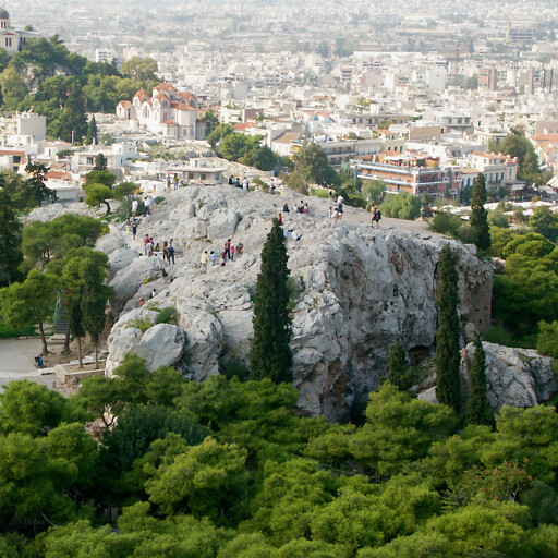 panorama of the Areopagus