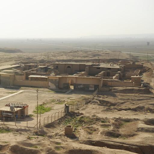 ruins at Nimrud